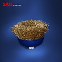 Industry factory direct brass wire brush for rust removal , wire cup brush