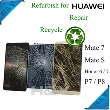 For huawei P8 bad touch digitizer fix service refurbishment cracked screen for huawei p8