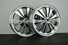 13 Inch Alloy Wheels of Motorcycle