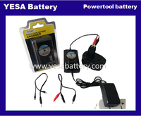 for Power Tool battery 4.8V~24V Ni-CD Ni-MH Battery and output 5V 2A for mobile phone ,iPad,note universal Intelligent charger