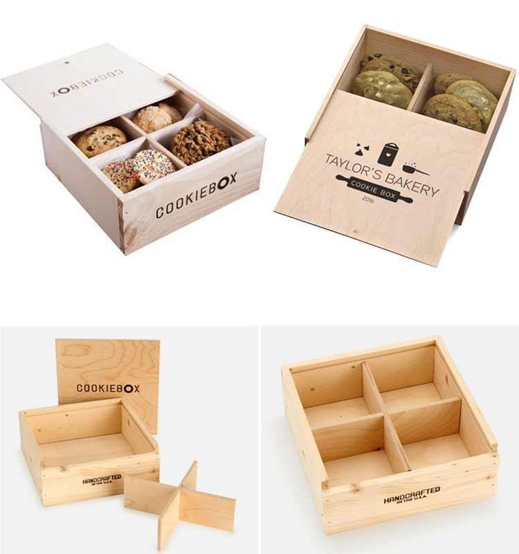 Natural Wood Pie/Bread Storage Box Sustainable and Eco-Conscious