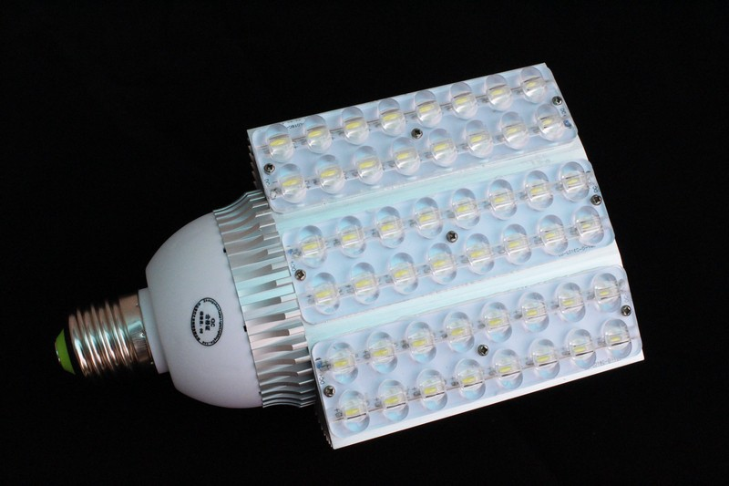 High Lumen High Power Bridgelux chip 48W E40 LED Corn Light