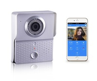 Home security WiFi Video Door Phone,2.4G Doorbell WiFi, Support Wireless Unlock iOS Android APP