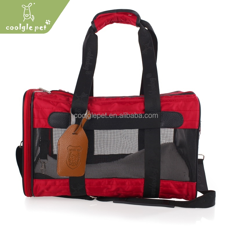 High-quality Gorgeous Pet Product Durable Air Travel Handled Dog Carrier