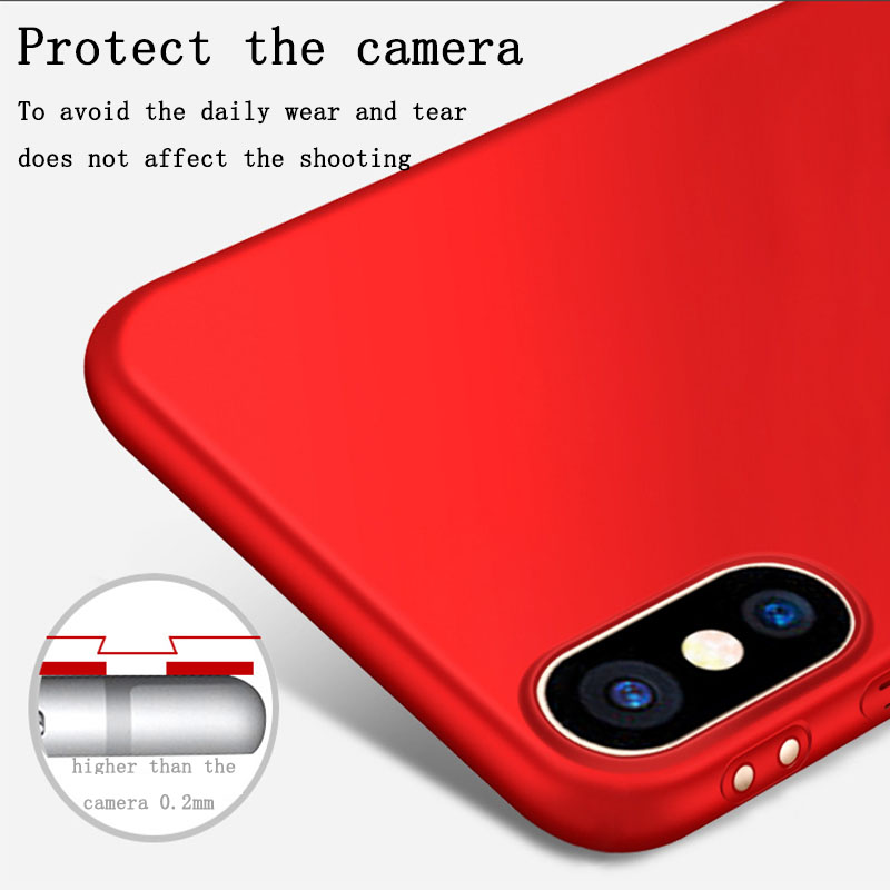 2017 New Anti Scratch Hard PC Shockproof Back Cover For iPhone 8,For Apple iPhone X Case