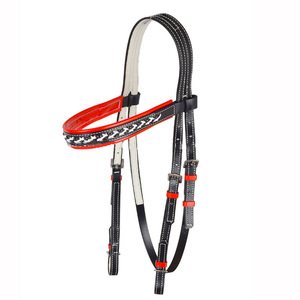 Micklem Decorative Horse Jumping Bridle Crystals with Waterproof PVC Material