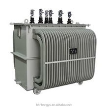 110KV three-phase two windings oil immersed Power transformer
