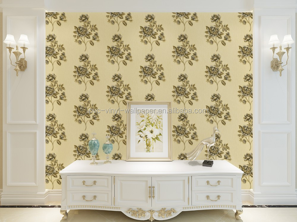 Beautiful large mural pvc vinyl wallpaper