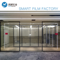 Lowest price electric controlled low power consumption window smart film Pdlc smart glass film