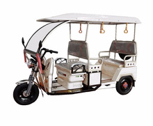 Best Sale In India Battery Powered Three Wheel Electric Auto Rickshaw With Roof