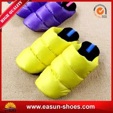 Wholesale good quality infant shoes wholesale soft leather ballerina room thailand slipper