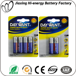 AA R6 Size dry battery Carbon batteries R6