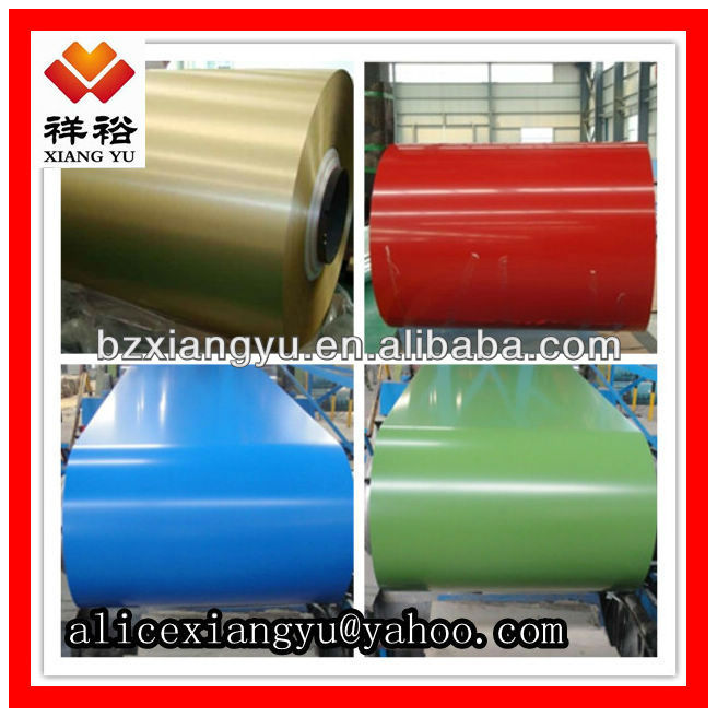 Steel Buildings Raw Material PPGI Coil/Metal Roofing