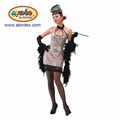flapper dresses 1920s costume (10-263) as lady carnival costumes with ARTPRO brand