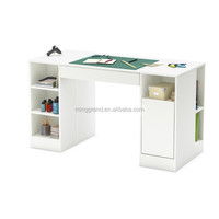 Light Color Collection Craft Table Laminate Writing Desk with Hutch