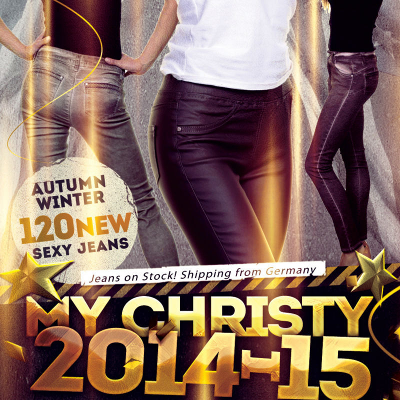 120 x My Christy Sexy Women Jeans collection autumn winter 2014/15