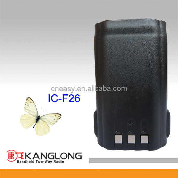 Long life Two way radio Battery IC-F26/BJ-2000