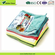 Custom color bulk microfiber material washable kitchen cloth