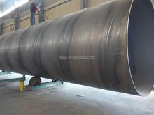 q235b carbon API 5L Spiral steel pipe with steel pipe penstock