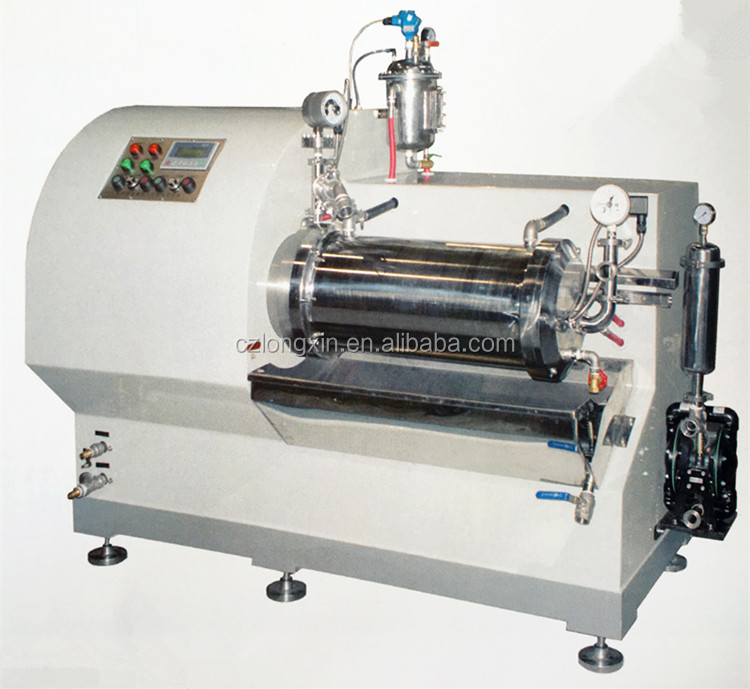 Longxin Professional Turbo Superfine Nano Sand Mill for Digital Consumptive Material Grinding (WST-30)