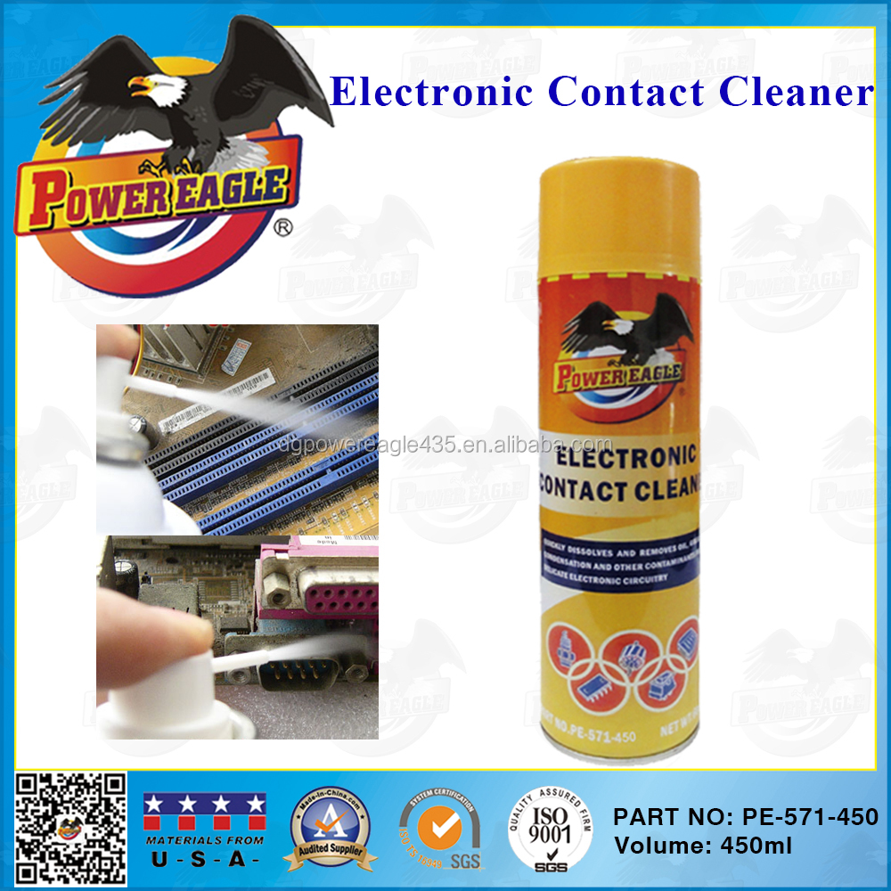 Car Care Fast Dry Spray Electronic Contact Cleaner 450ML