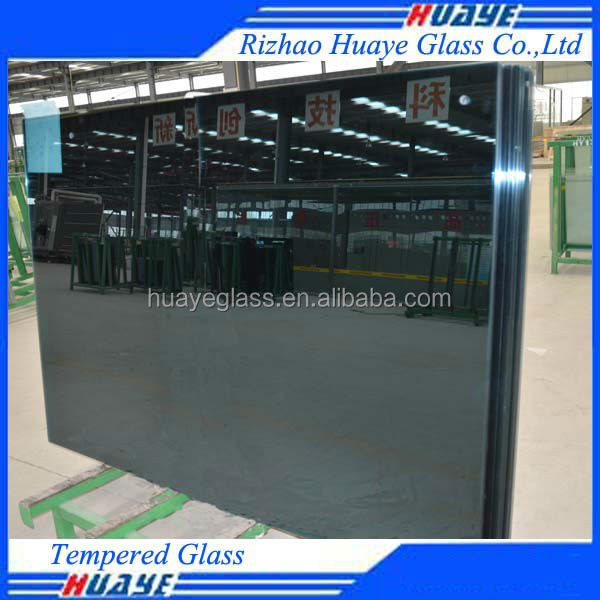 High Strength and Safety Tempered Glass For Buildings With CE Certificate