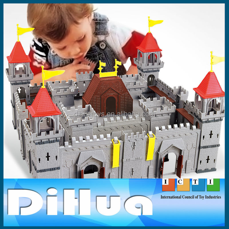 Educational Toys Soldiers with Castles for Boys