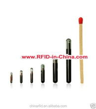 Injectable Animal RFID Chip Design, RFID Glass Inject Tag for Animal Tracking