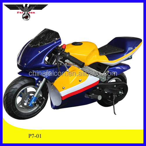 49CC engine kick start pocket bike mini dirt bike ( P7-01 )