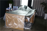 protective spray plastic film/plastic sheets for construction/protective film for window/glass