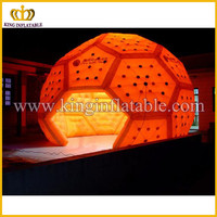 Lighting LED inflatable tent for party, lighting dome inflatable party tent