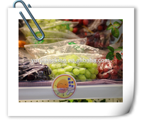 Plastic grape packing bags/ fresh grape packaging bag