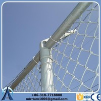 Home and garden using 50*50 mm hole galvanized chain link fence