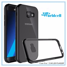 acrylic+TPU cell phone case cover for Samsung A5 2017