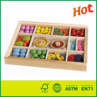 Top New Wooden Beads Toy