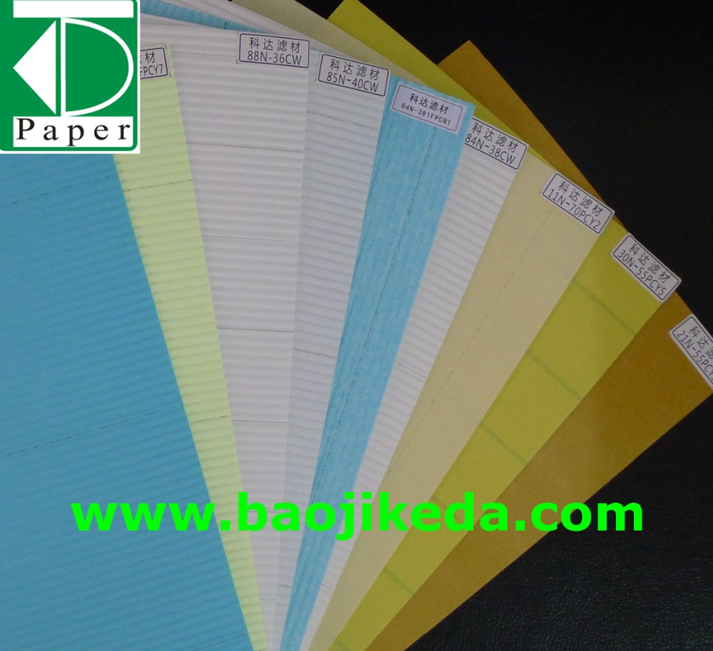heavy duty air filter paper