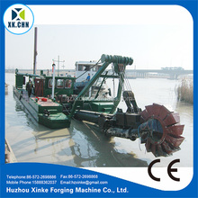 Hydraulic Sand Dredger In Lake & 20 Inch Full Hydraulic Cutter Suction Dredger