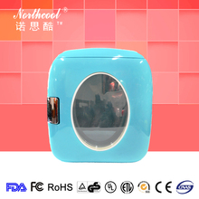 colorful small portable freezer for travel