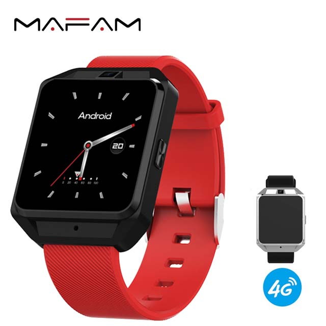MAFAM MF35 Mobile 4G Smart Watch <strong>Phone</strong> 4G <strong>Android</strong> 6.0 GPS WIFI HD Camera Heart Rate Smart Watch
