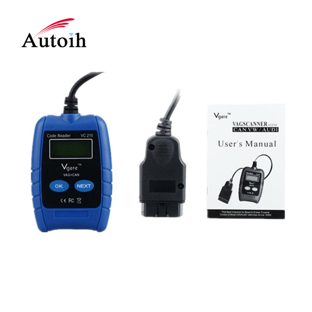 Factory supply OBDII diagnostic scanner Code Reader Diagnostic Tool for VW/AUDI