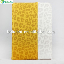Two color stitching Slim Folding tablet case for ipad mini case