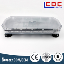 LED mini emergency lightbar Car strobe warning light exterior lightbar LB821
