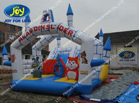 Castle Inflatable, Jumper Combo, Jumping Castles Inflatable Water Slide Toy