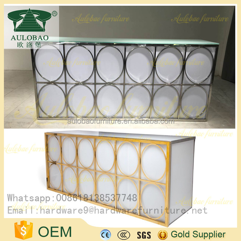simple design led commercial bar counter portable bar counter for sale