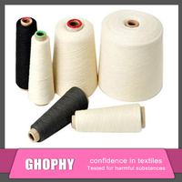 polyester yarn for woven label