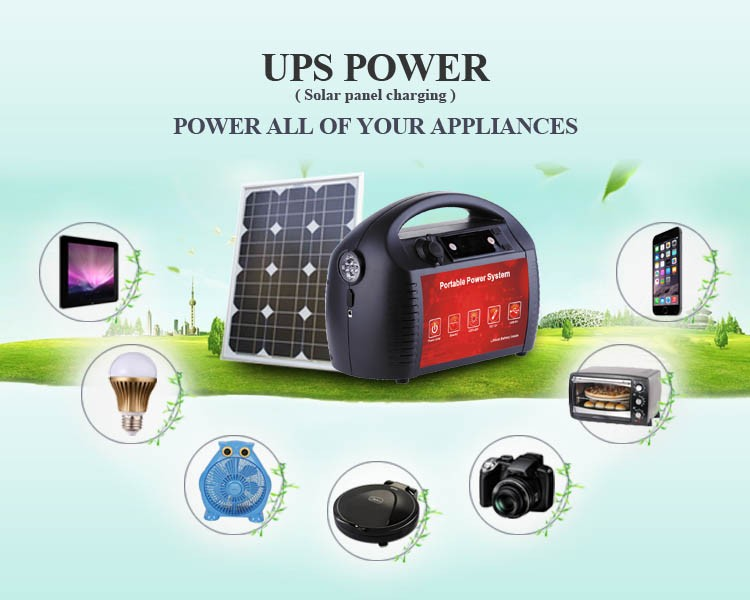 500W UPS off line type uninterruptible power supply/portable power supply with AC DC output for electric equipment/solar system
