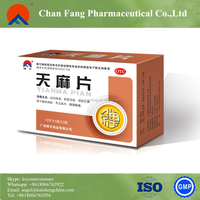 Factory Supply 100% Good Quality Gastrodia Elata tablet, pain relief pill