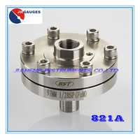 Stainless steel diaphragm seals