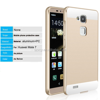 smart Aluminum metal bumper PC back cover case for huawei ascend mate 7