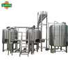 cheap beer making supplies brewhouse and stainless steel conical fermenter